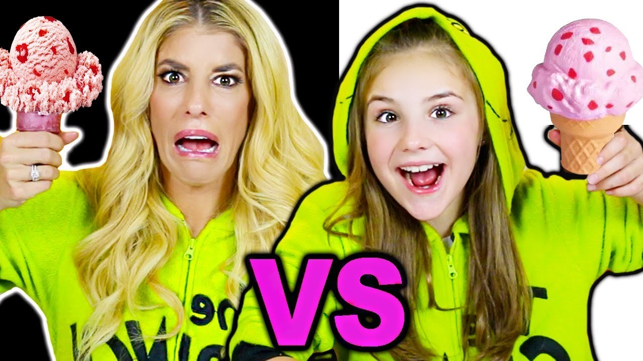 Ultimate Squishy Food vs Real Food Challenge! Learn How to make Food out of DIY Slime