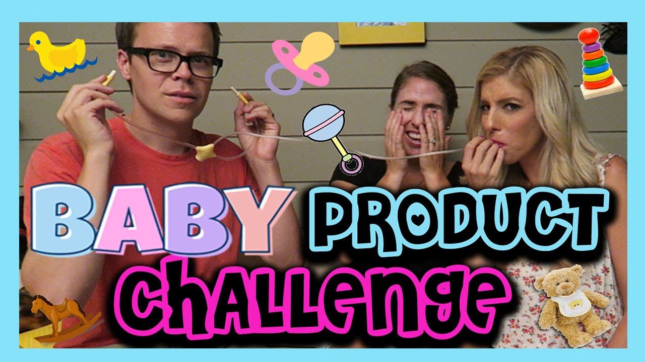 Baby Product Challenge (w/ Rebecca Zamolo and MattSlays)