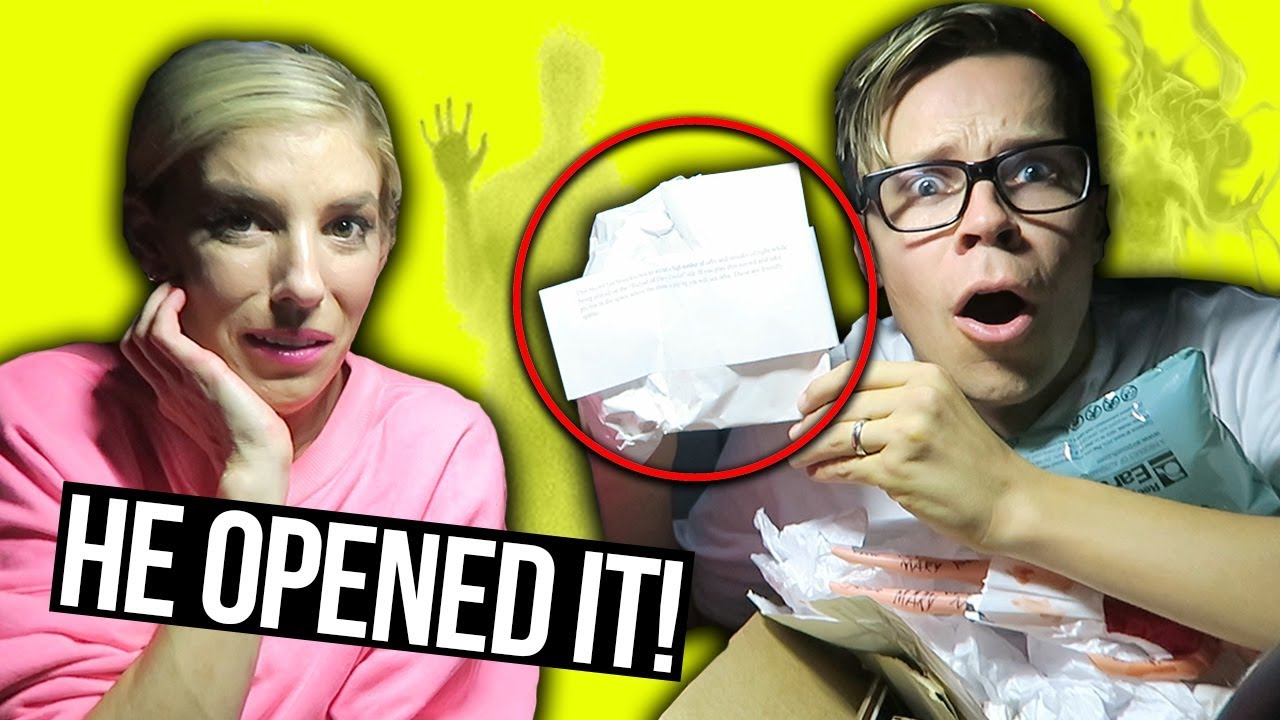 DO NOT OPEN A 3AM HAUNTED MYSTERY BOX FROM EBAY! (Day 330)