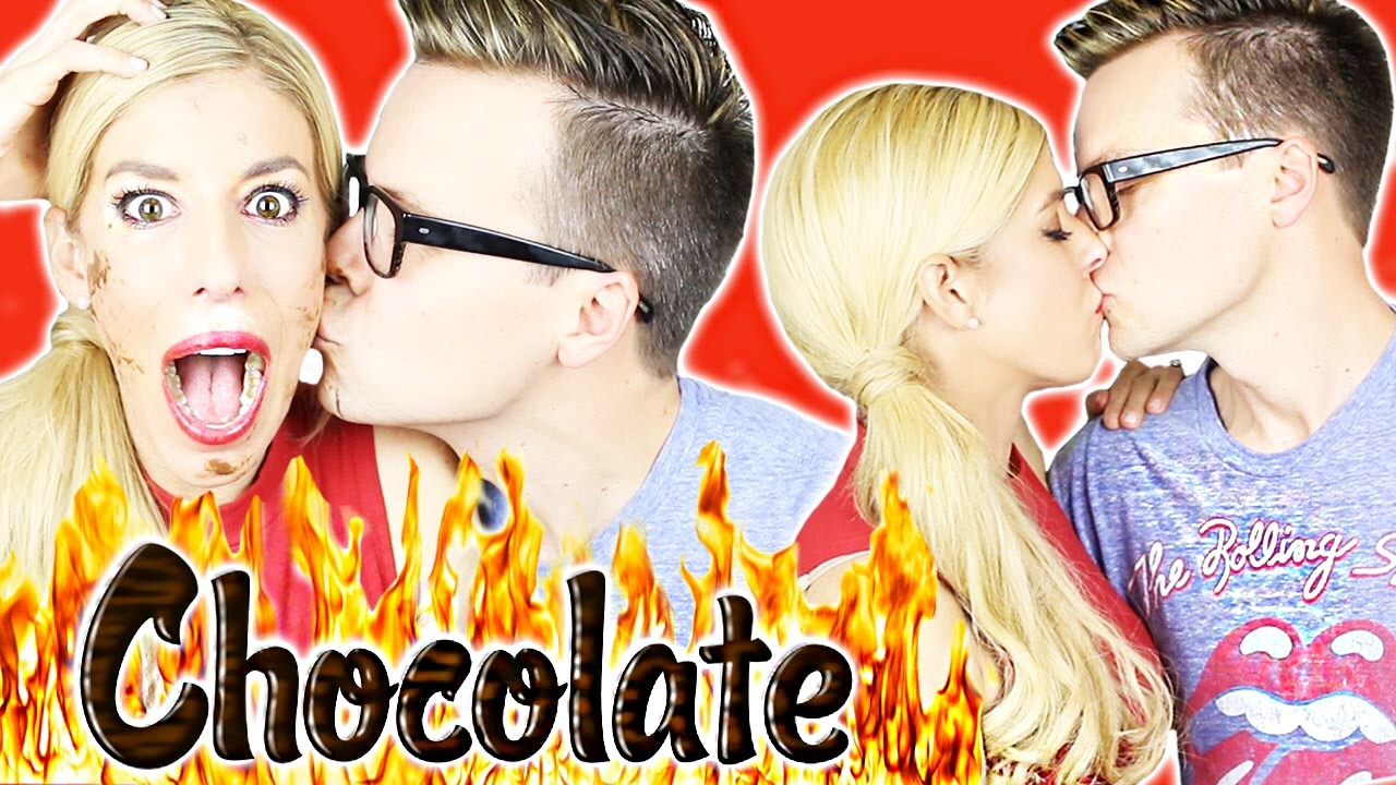 EXTREME CHOCOLATE HOT & SPICY KISSING CHALLENGE! + Giveaway!!