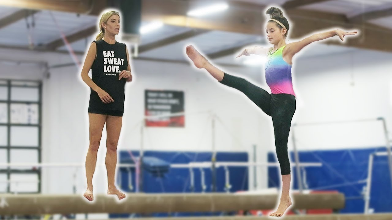 GYMNASTICS LESSON WITH THE BRATAYLEY'S! (Day 145)