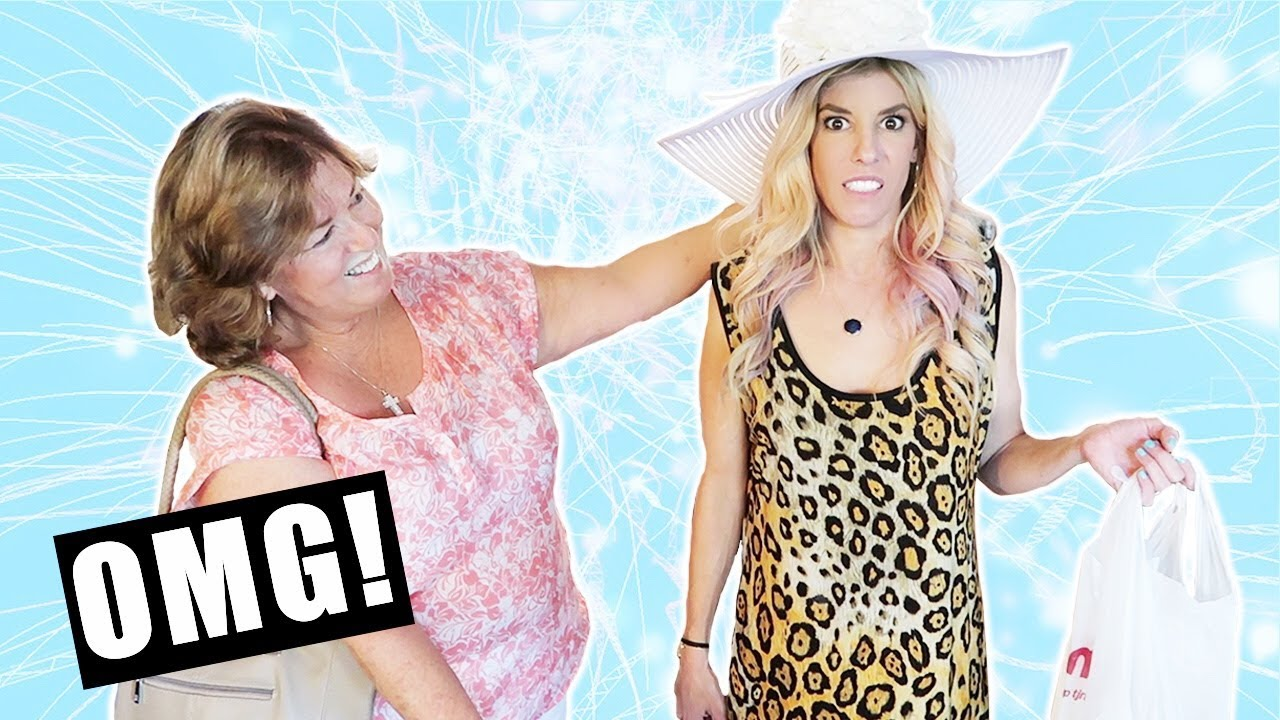 My Mom Buys My Outfits For A Week!