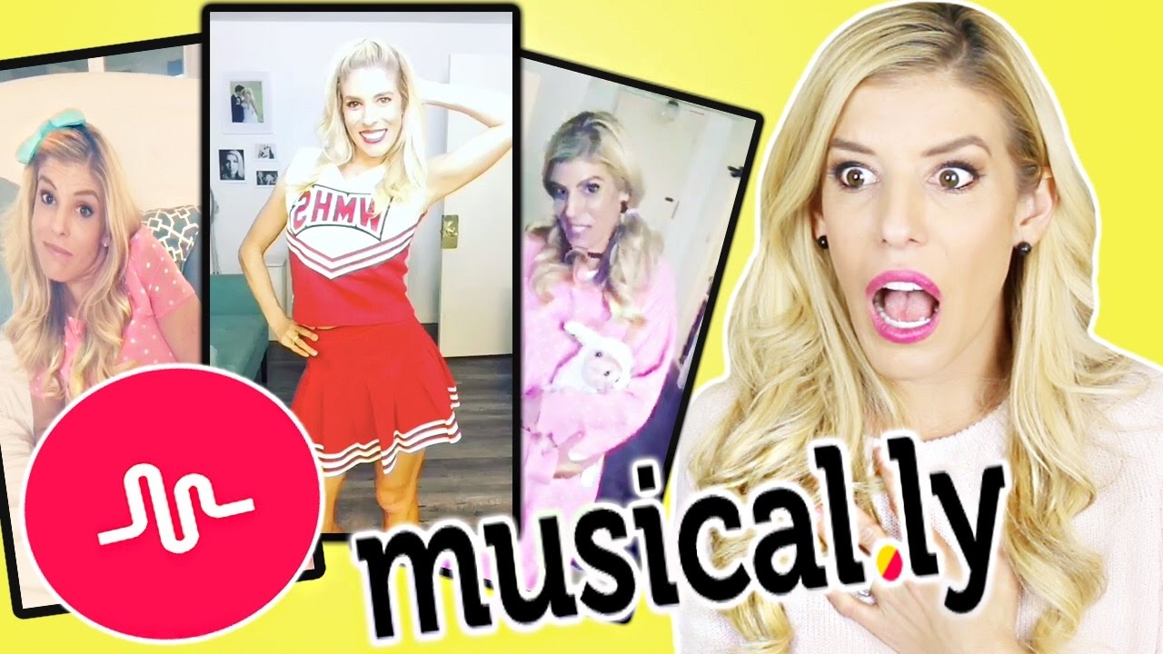 REACTING TO MY FIRST CRINGY MUSICAL.LYS!