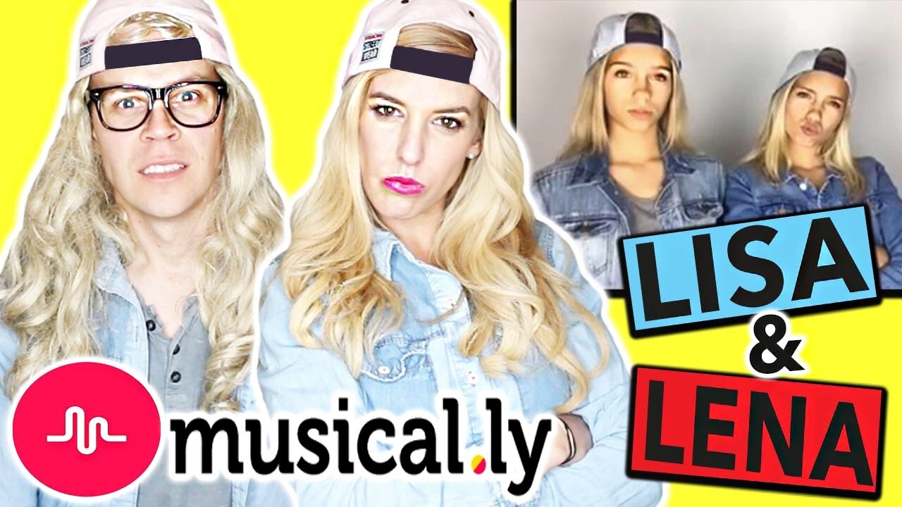 RECREATING LISA AND LENA'S MUSICAL.LYS!! (WARNING: CRINGEY!)