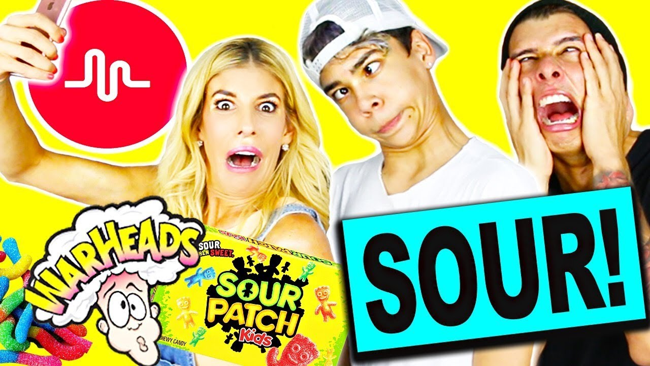 SOUREST CANDY IN THE WORLD MUSICALLY CHALLENGE!!