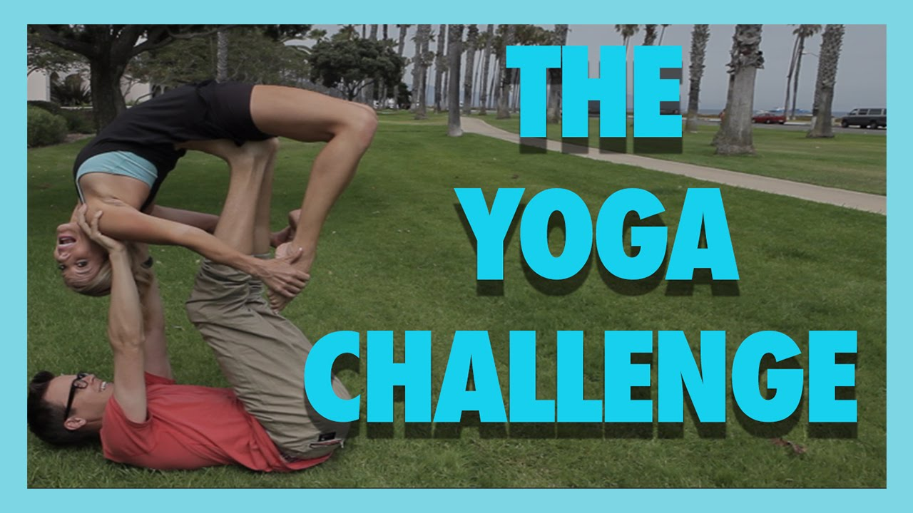 THE YOGA CHALLENGE (w/ Rebecca Zamolo and MattSlays)