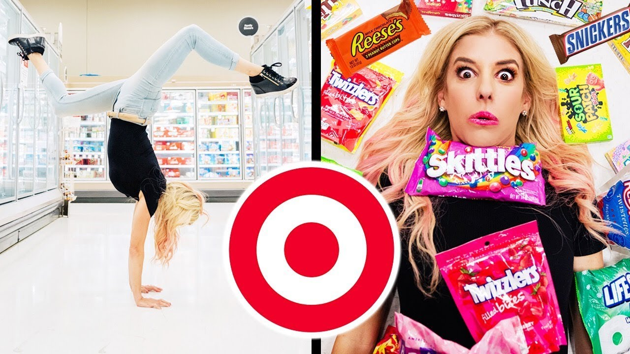 We Almost got KICKED OUT of Target! | Instagram Photoshoot