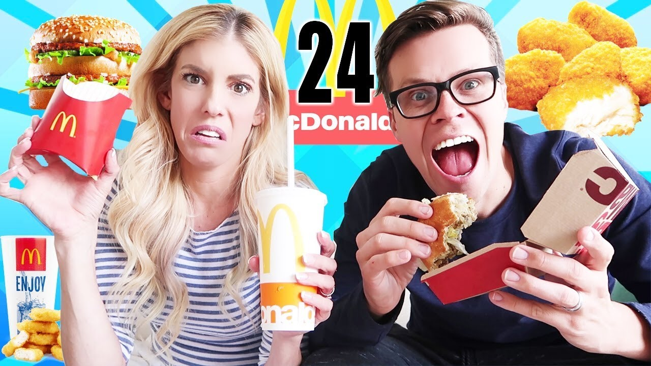 We Only Ate Fast Food Vs. Real Food For 24 Hours