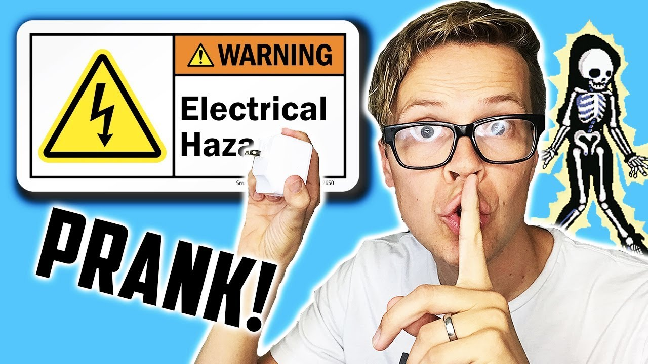 FAKE ELECTRIC SHOCK PRANK ON WIFE! (DAY 253)