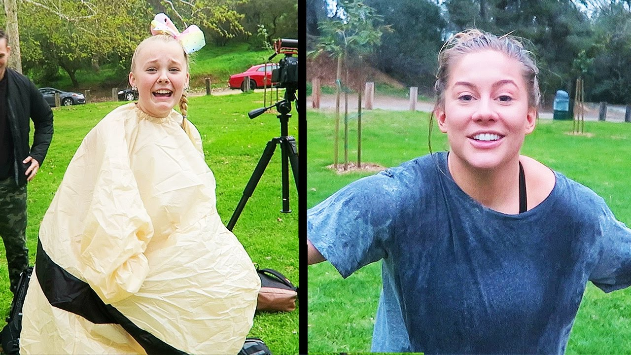 HILARIOUS OUTTAKES - FILMING WITH JOJO SIWA AND SHAWN JOHNSON (DAY 57)