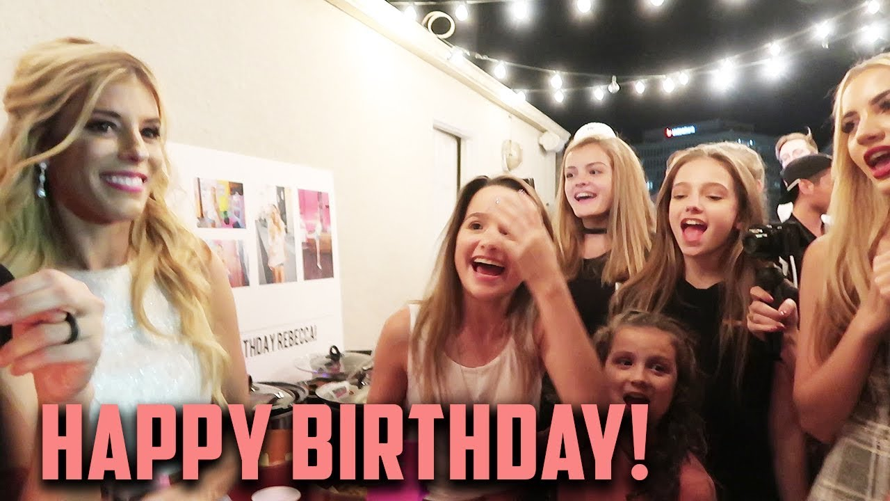 REBECCA'S BIRTHDAY PARTY! (DAY 270)