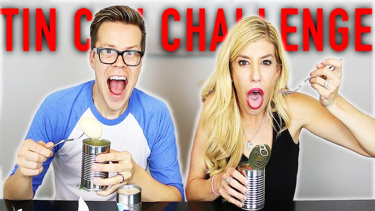 TIN CAN CHALLENGE W/ REBECCA ZAMOLO (DAY 53)