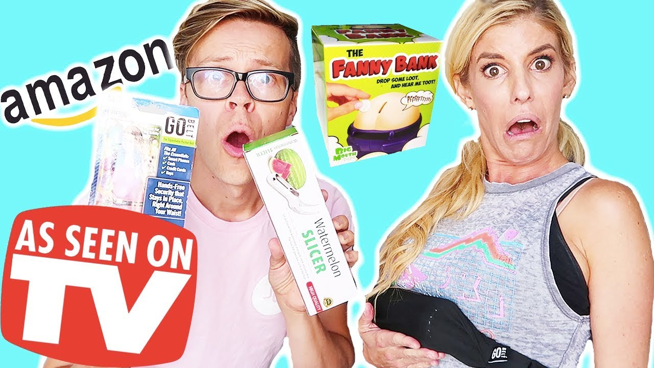 TRYING WEIRD AS SEEN ON TV PRODUCTS FROM AMAZON!  (DAY 255)