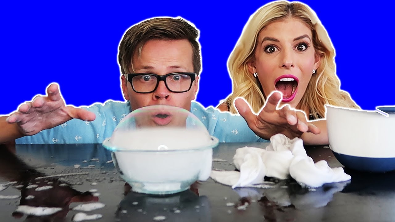 GIANT DRY ICE SMOKE BUBBLES!  (Day 208) - DIY HOW TO
