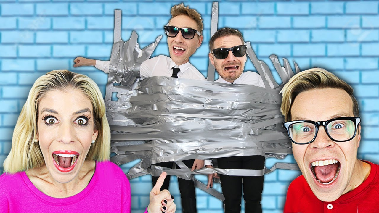 We Duct Taped the GMI to the Wall for 24 hours! (Game Master Network Unexpected Prank)