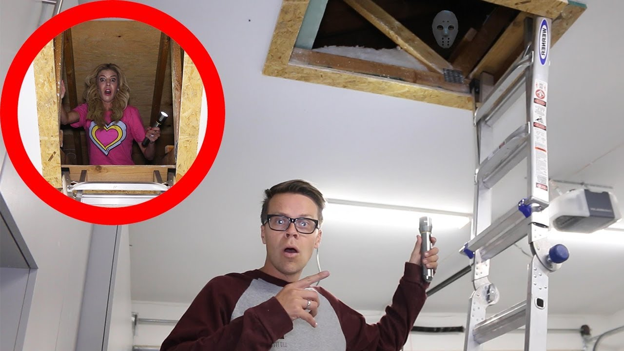We Found Someone Living Above Our House! (Secret Clues Hidden in Aboveground Tunnel)