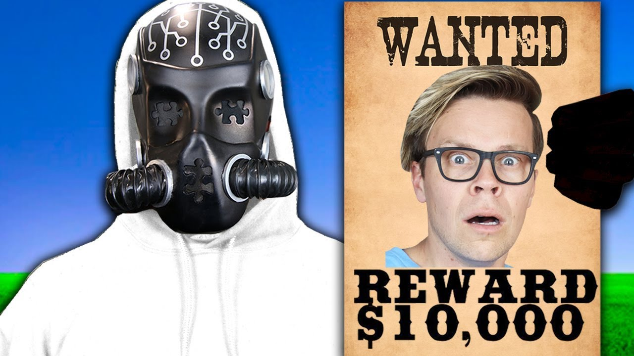 MATT IS WANTED?!  Framed by Game Master and Mr. X in Secret Meeting (Surprising Viral Disguise)