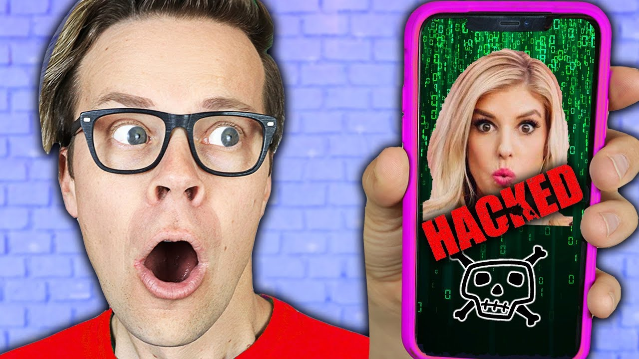 REBECCA'S phone is HACKED! (Spending 24 hours Spying on Best Friend GAME MASTER Spy Training Reveal)