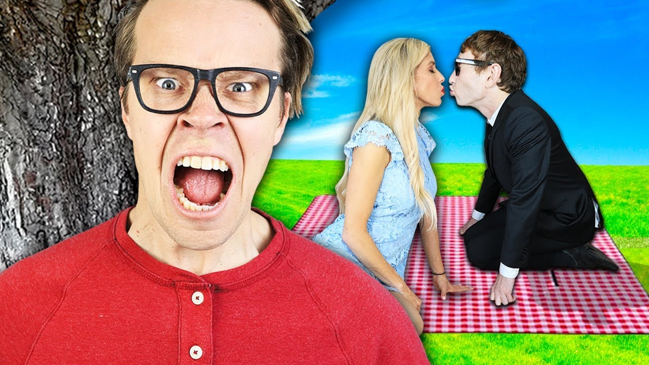 Spying On My Wife in Disguise For 24 Hours! Crashing Date with Crush using Hacks and Girls Struggles