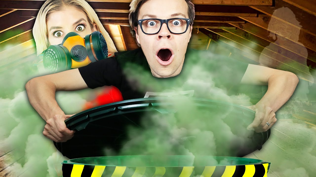 Matt and Rebecca Finally Open the Tunnel in Our New House! (Best DIY Face Mask Challenge)
