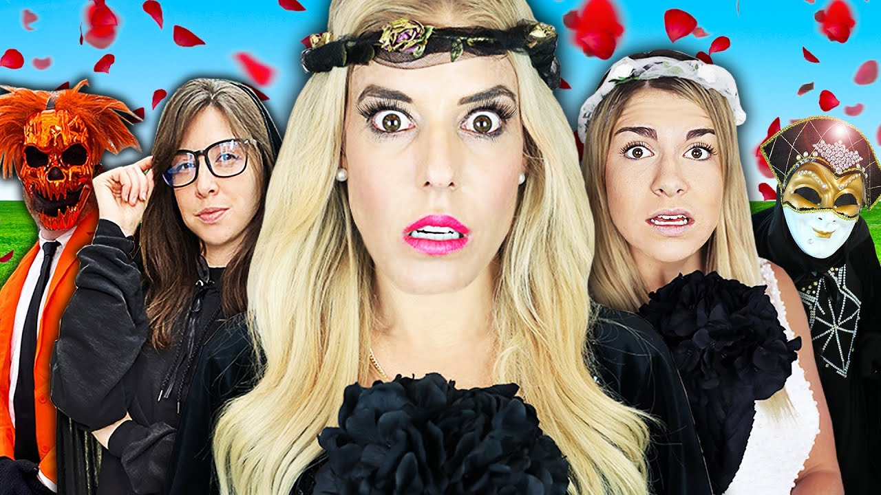 Giant Wedding at Hacker Fairy Tale Castle In Real Life to Rescue Maddie! Rebecca Zamolo