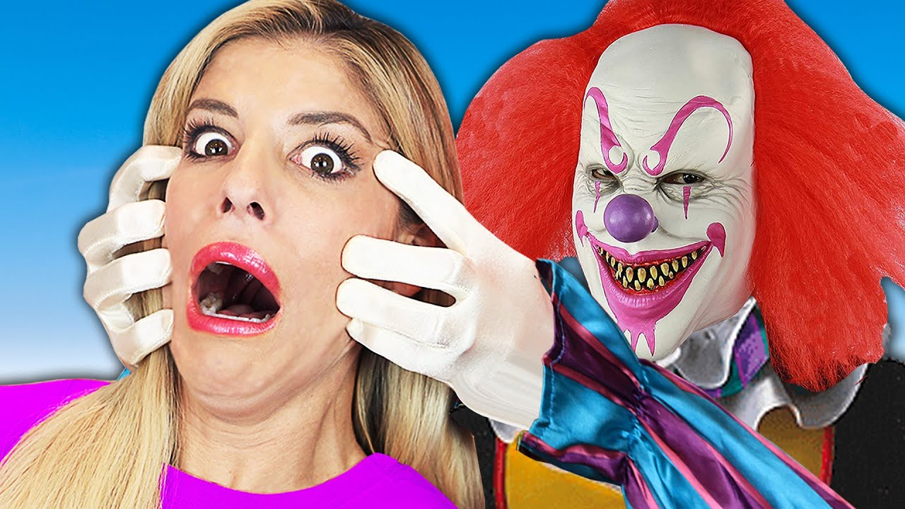 I Face My Fear of Clowns for Red Hood Spy Face Reveal! Rebecca Zamolo