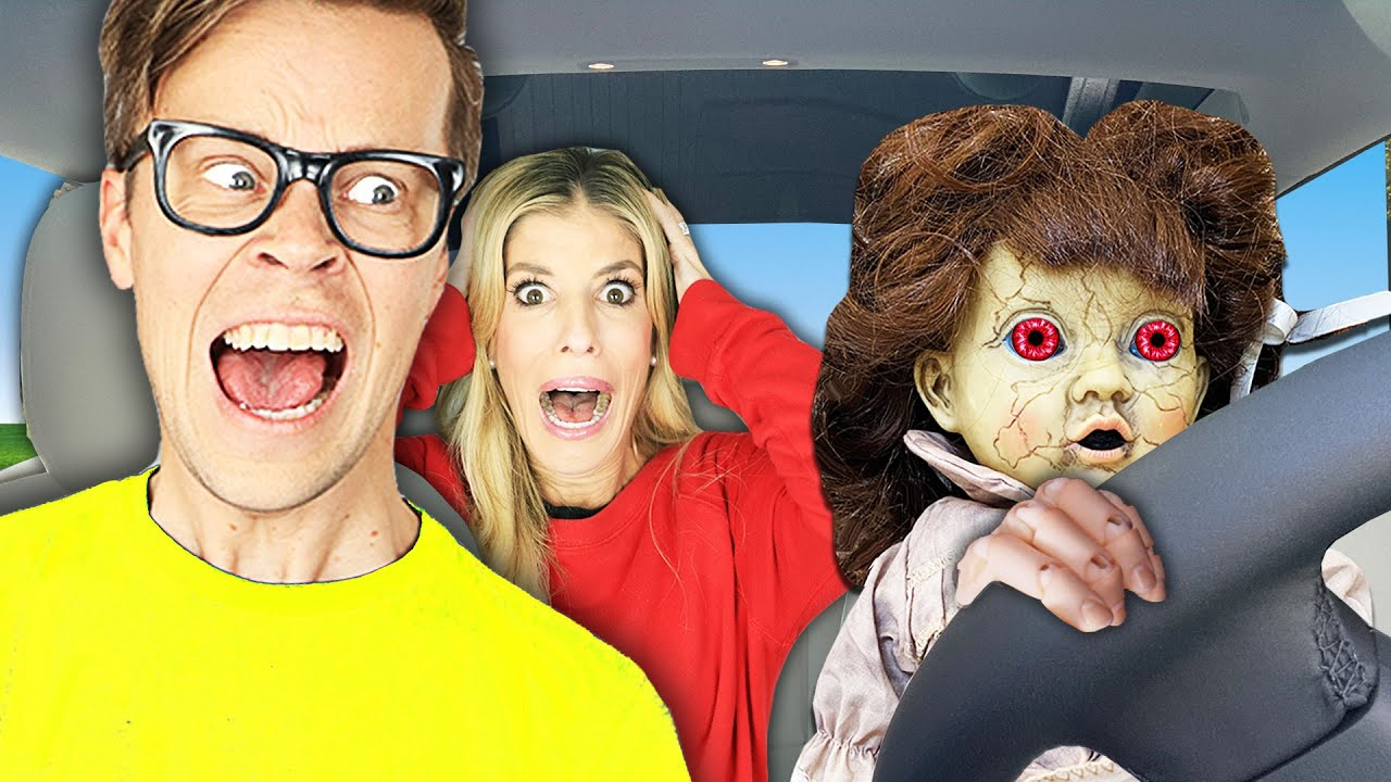 Creepy Doll Trapped Me and Controls My Life For 24 Hours! Matt and Rebecca