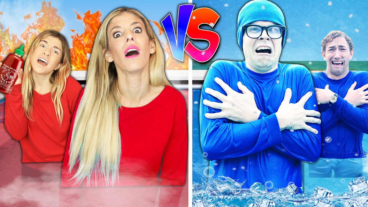 Hot Vs Cold Pool Challenge to Find Imposter Among Us! Game Master Network